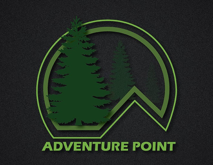 2D AND 3D LOGO DESIGN | Adventure Point logo