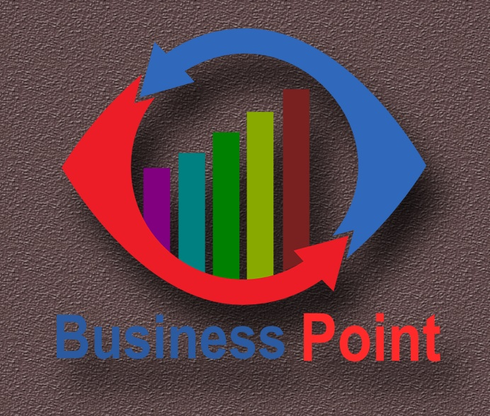 2D AND 3D LOGO DESIGN | Business Point logo